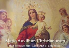 Blog dedicato a Maria Ausiliatrice