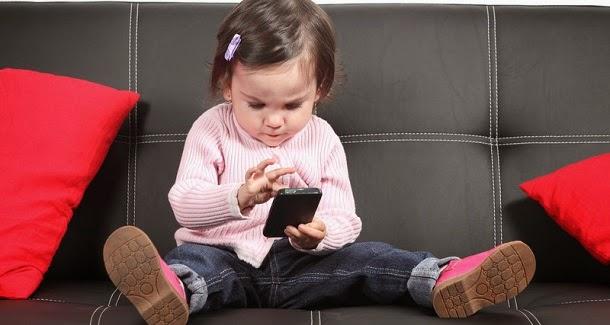 Dispositivos eletrónicos provocam mal-estar em crianças