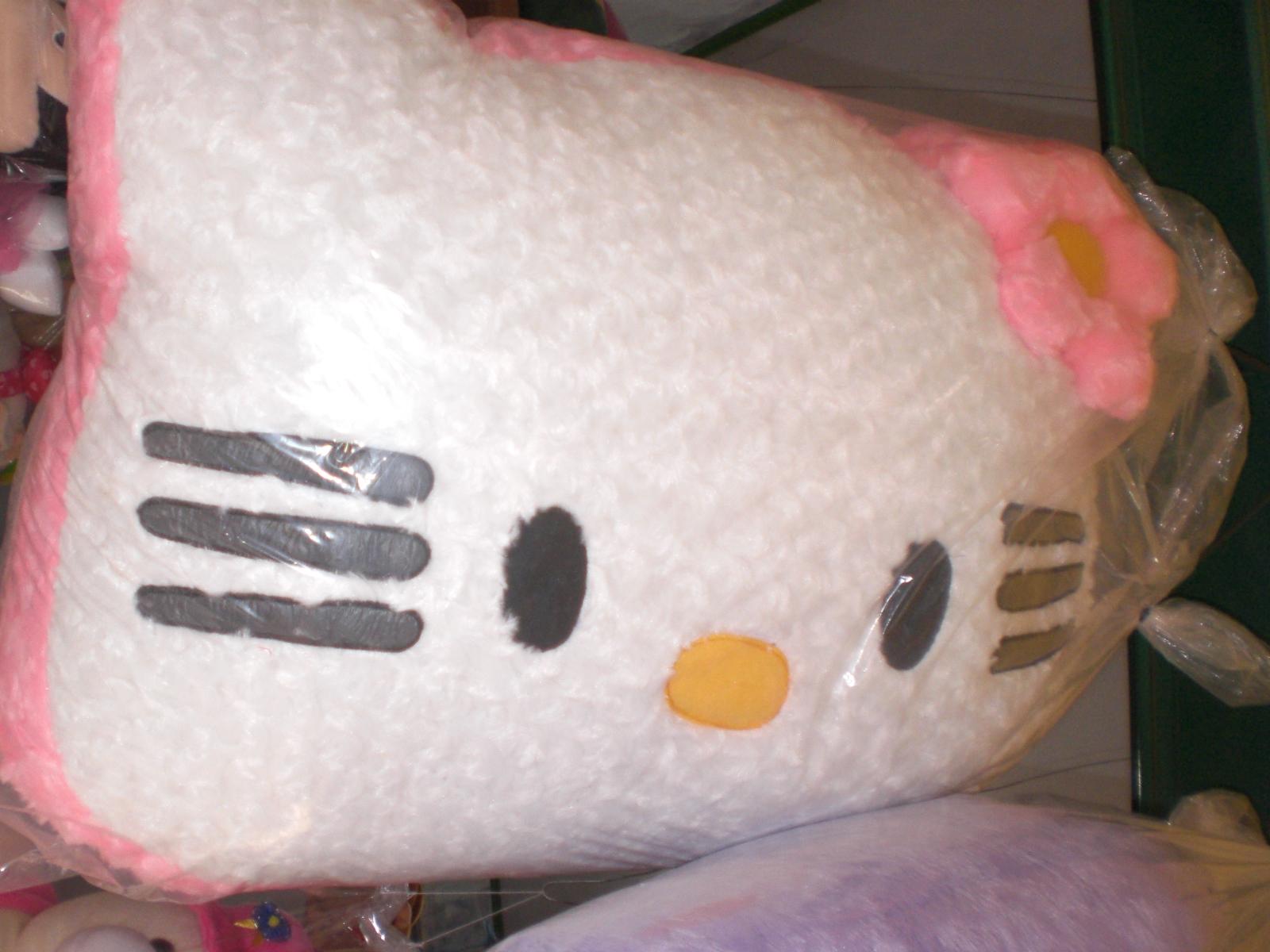 Bantal Boneka Hello Kitty Jumbo Rumah Lucu Keropi