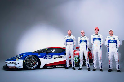 Ford GT GTE 2016 (With Olivier Pla, Marino Franchitti, Stefan Mücke and Andy Priaulx) Side
