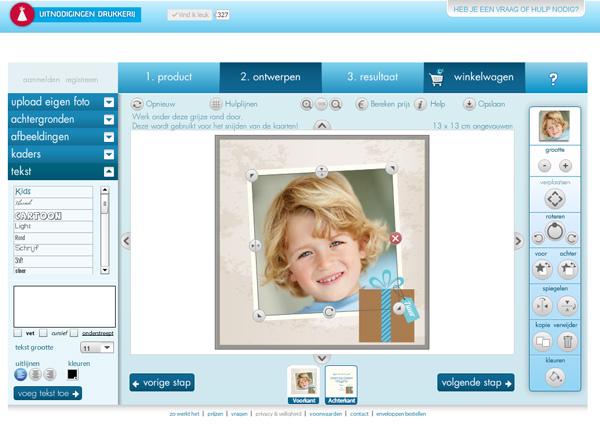 Ontwerp het zelf zelf kaarten ontwerpen met ons online for Interieur ontwerpen online gratis