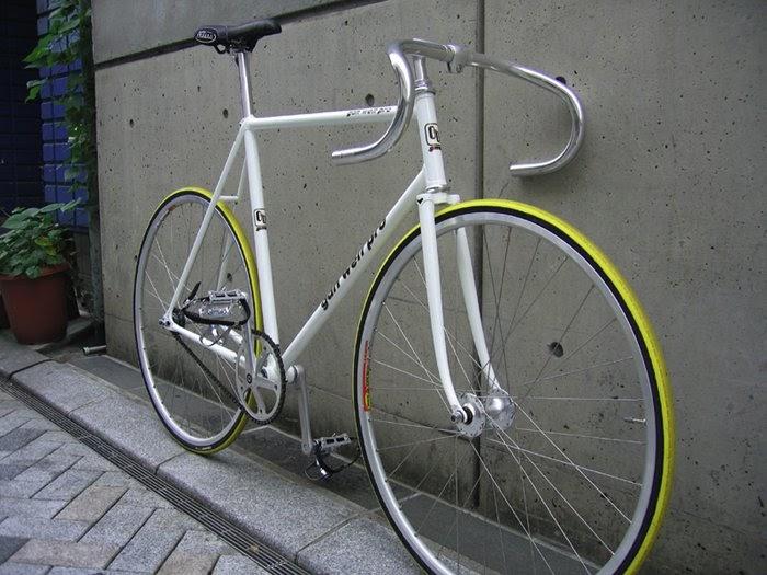 Desain Sepeda Fixie Frame Putih | Desain Modifikasi Sepeda