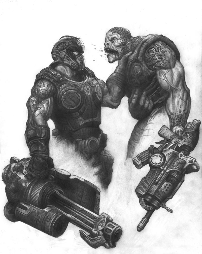Gears of War 3 Clayton Carmine