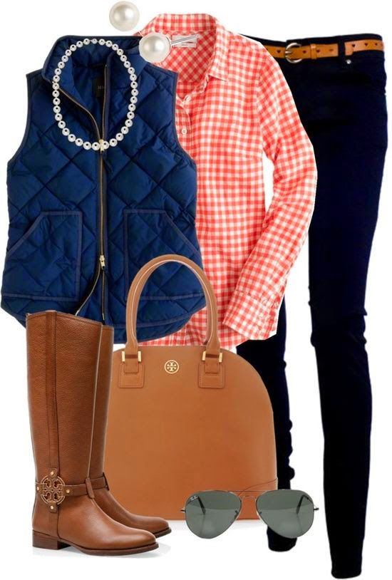 Blue half Coat + neck less + pink casual shirt + blue chino +hand bag + long leather  shows