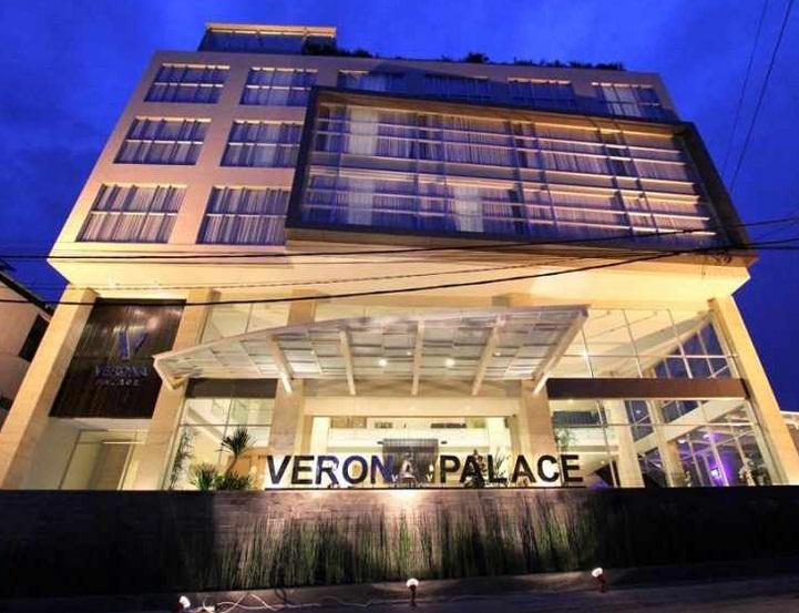 Hotel Verona Palace Beralamat Di Jalan Surya Sumantri No36 Pasteur Bandung Jumlah Kamar Tersedia Sebanyak 45