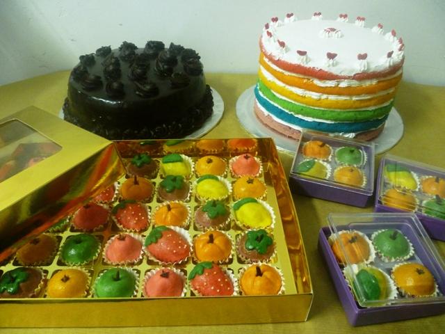... 640 x 480 · jpeg, Rainbow Cake/ Coklat Moist Cake/ Tart Buah-buahan