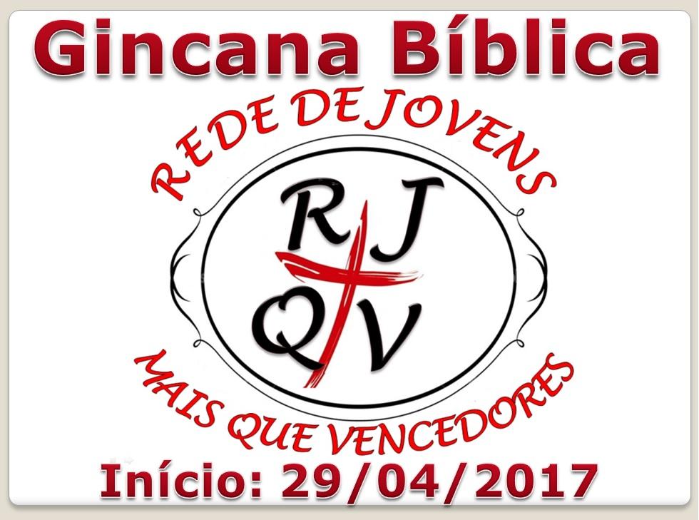 Nova Gincana Bíblica 2017