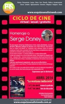 Ciclo de cine en la web: Homenaje a Serge Daney
