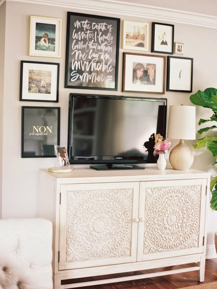 What\'s new At Frame By Frame: Style your TV around Framed Art