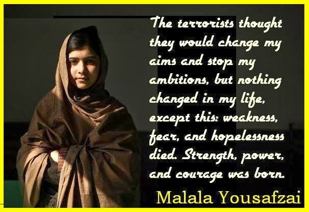Malala Yousafzai Quotes | Malala Yousafzai Quotes Malala Yousafzai Quotes About Education