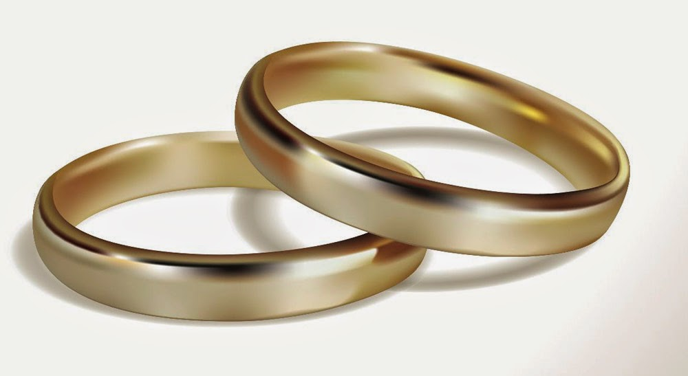 Gay Male Simple Wedding Rings Yellow Gold Elegant Model pictures hd