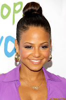 Christina Milian Silver Rose Awards in Los Angeles