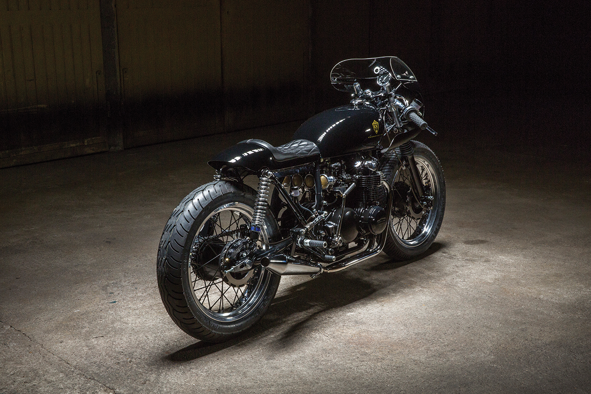 The royal racer kikishop honda cb500 return of the cafe racers