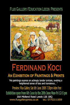 Exhibition: International Roma artist Ferdinand Koci