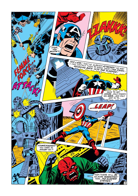 Captain America (1968) Issue #148 #62 - English 14