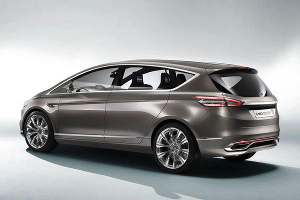 Новый семиместный Ford S-Max 2014 года