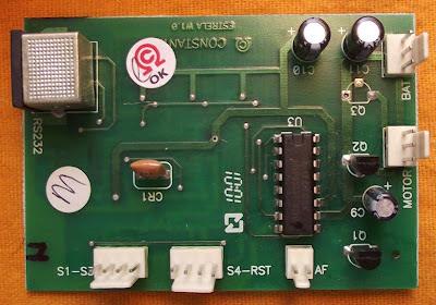 Urso Web Estrela - Placa de circuito