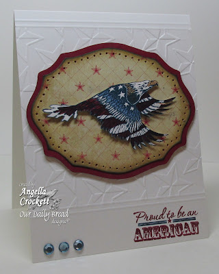 "ODBD ""Home of the Free"" Card Designer Angie Crockett"