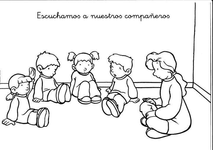 imagenes para colorear responsabilidades en el aula y en casa Car ...