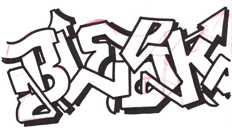 Graffiti en papel - Imagui