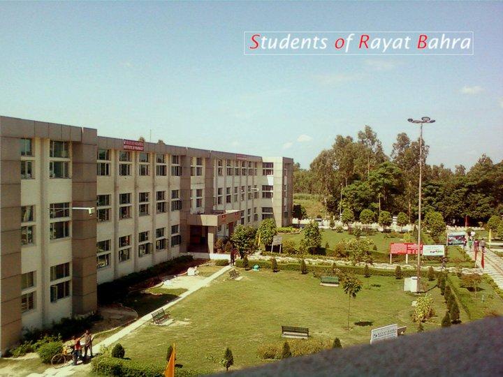Students of Rayat Bahra