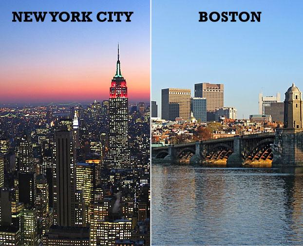 Dating i boston vs nyc