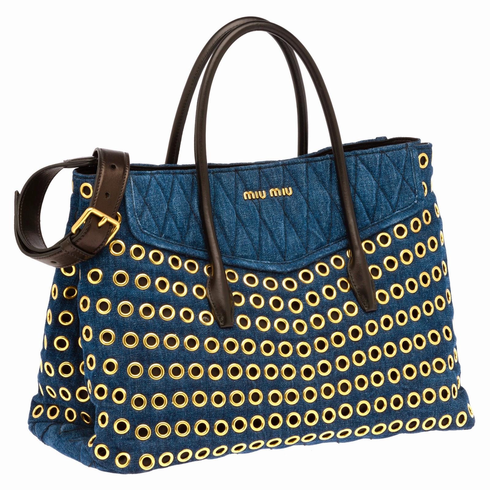 raptiyeli+tote Miu Miu Herbst Winter 2014 Handtaschen Modelle