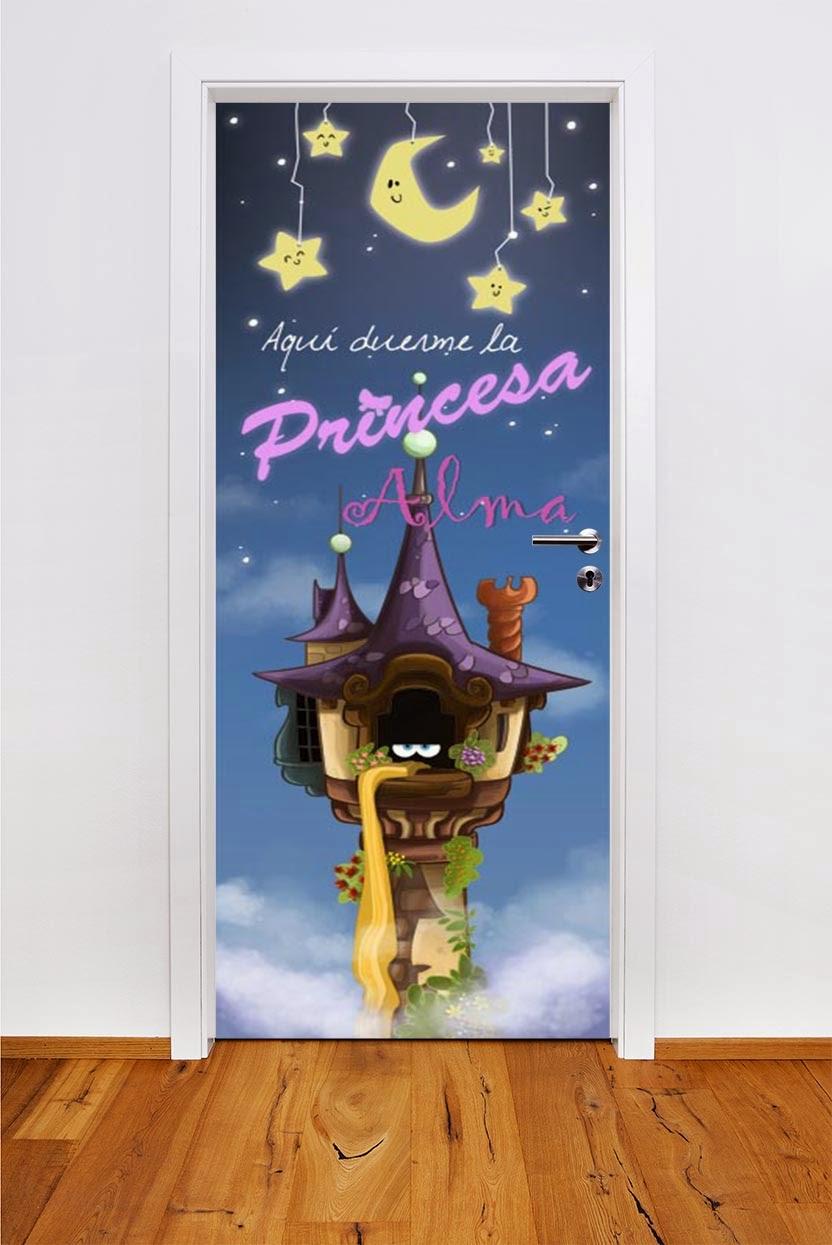 puerta-infantil-princesa-encerrada