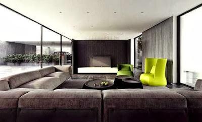 Desain Ruang Keluarga Modern