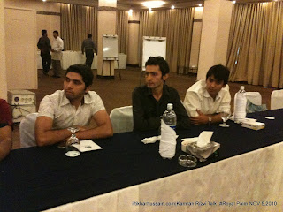 Meetup with Kamran Rizvi, Syed Kashif ul Hasnain at Meetup with Kamran Rizvi