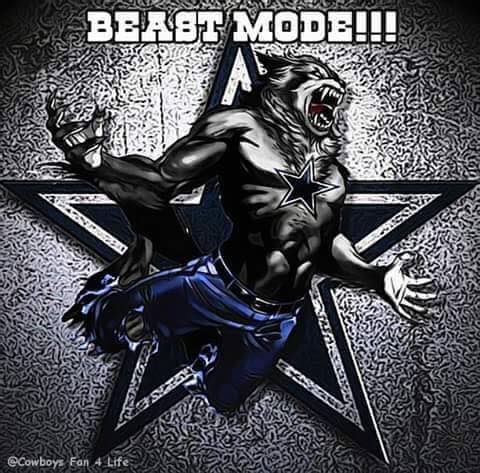 beast mode.- #cowboys #beastmode