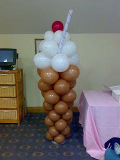 balon karakter - es krim