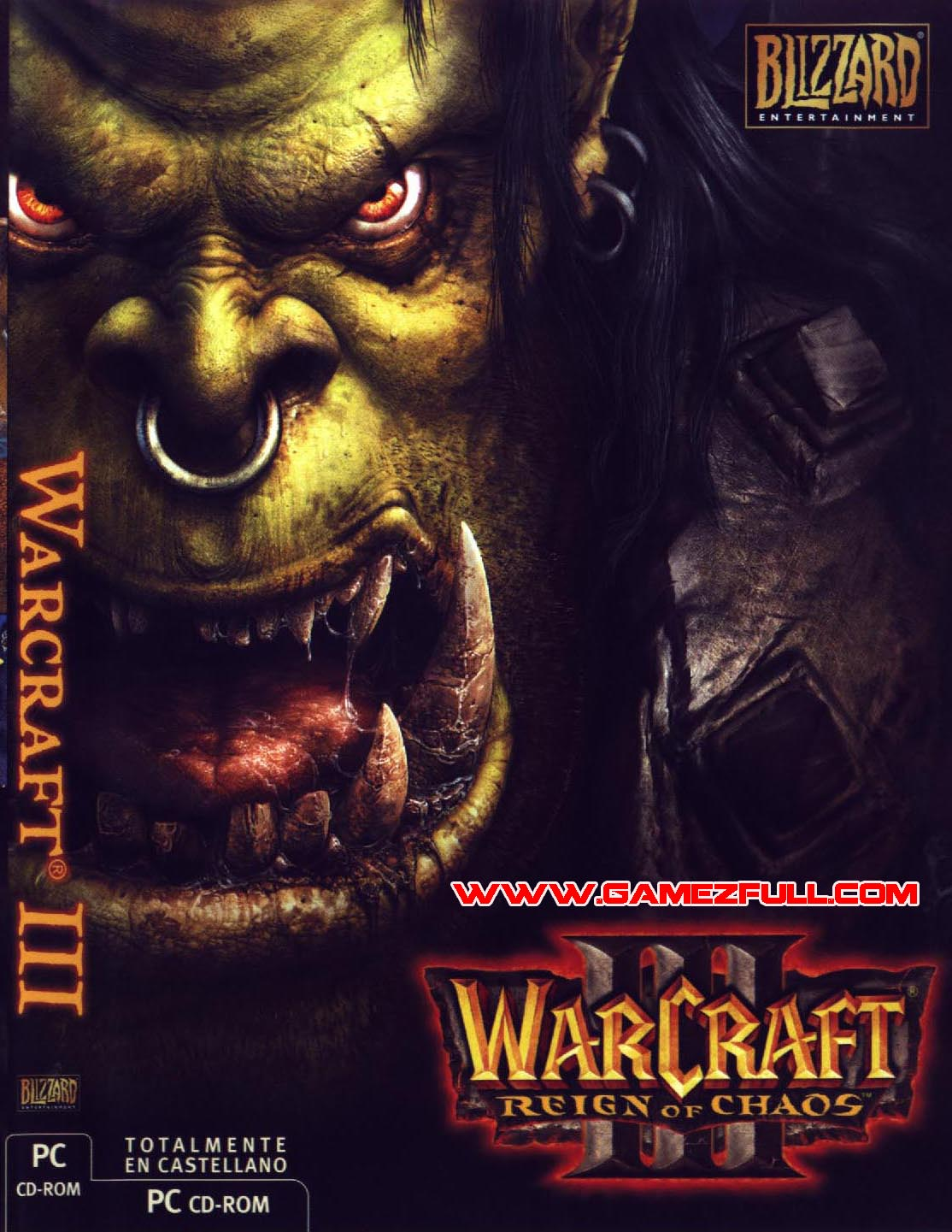 Warcraft 3 - Reign Of Chaos pc full mega español