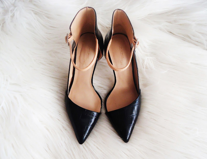 new black shoes from Zara basic for fall 2012