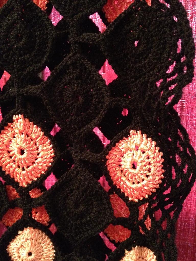 mes r ves de crochet etole au crochet pour sortir en. Black Bedroom Furniture Sets. Home Design Ideas