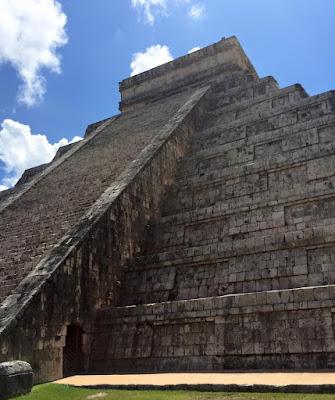 Chichen Itza pyramid.