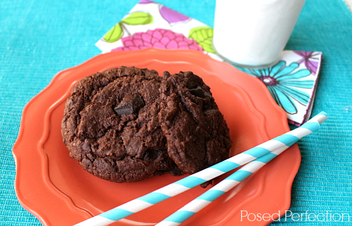 Gourmet Chocolate Cake Mix Cookies