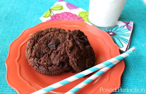 Gourmet Chocolate Cake Mix Cookies