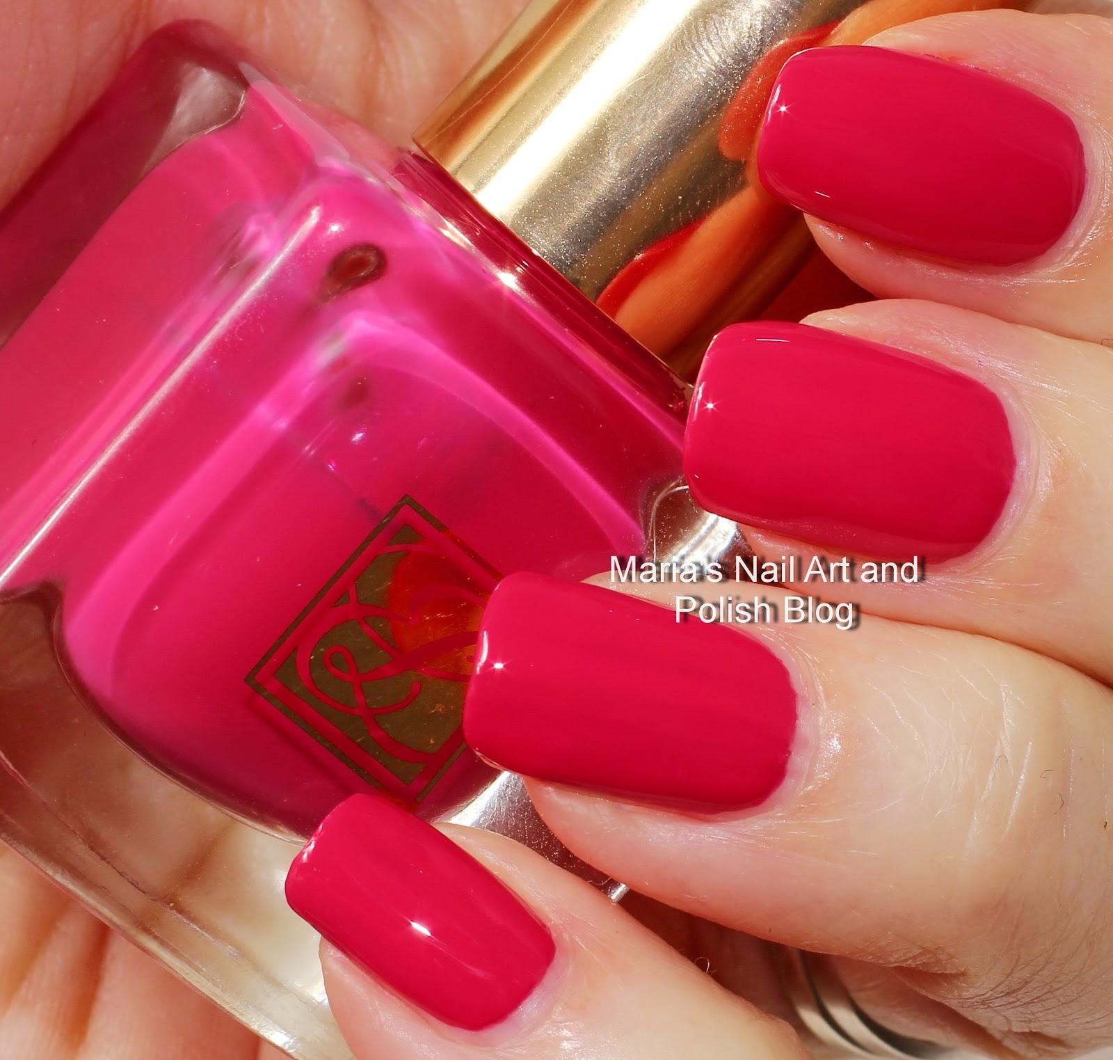 Marias Nail Art and Polish Blog: Estee Lauder 20 Hot Fuchsia ...