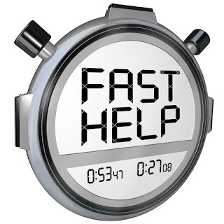 A stopwatch illustrates that you can prepare fast for selling to executives using their web site