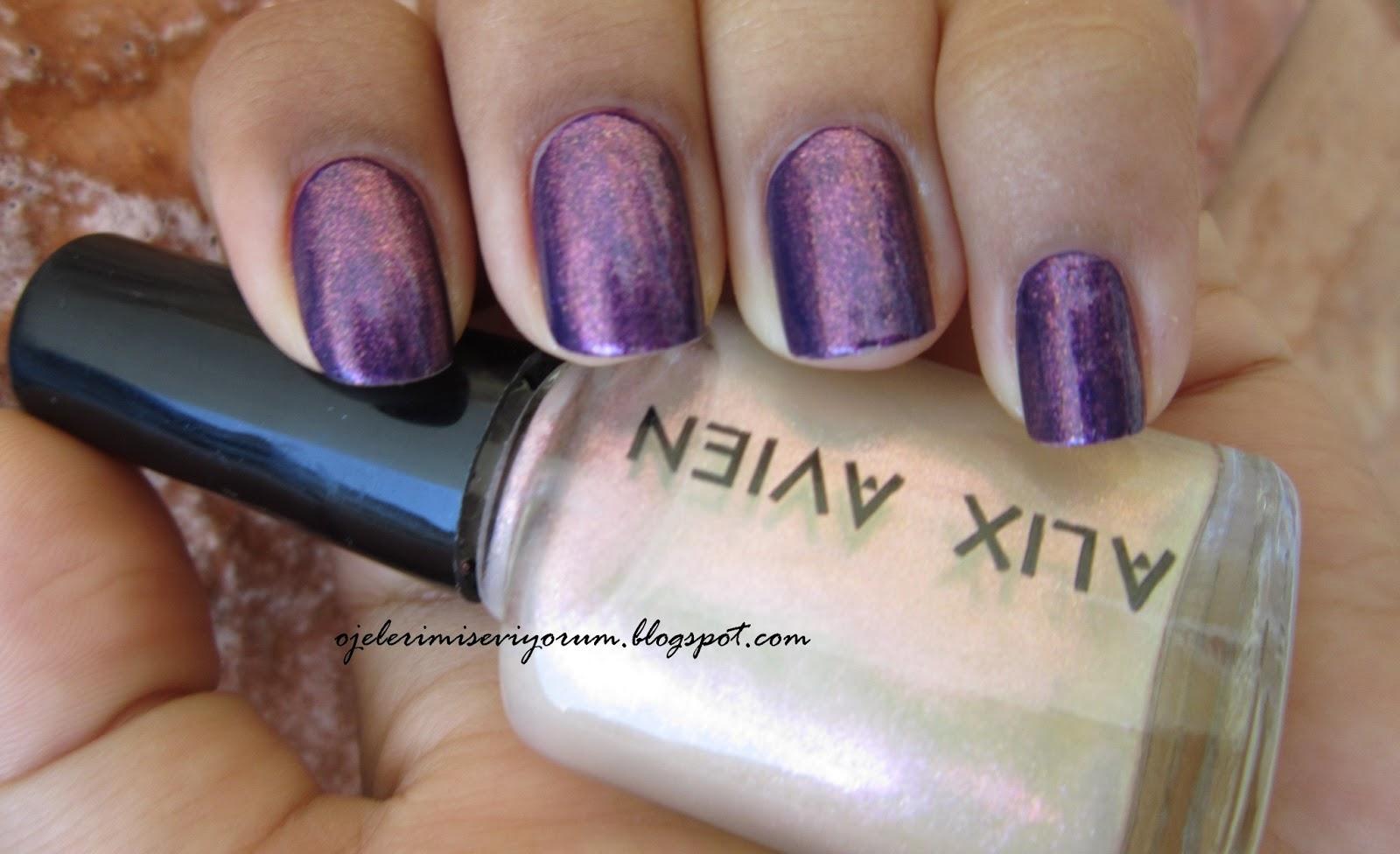 Fake Galaxy Nails