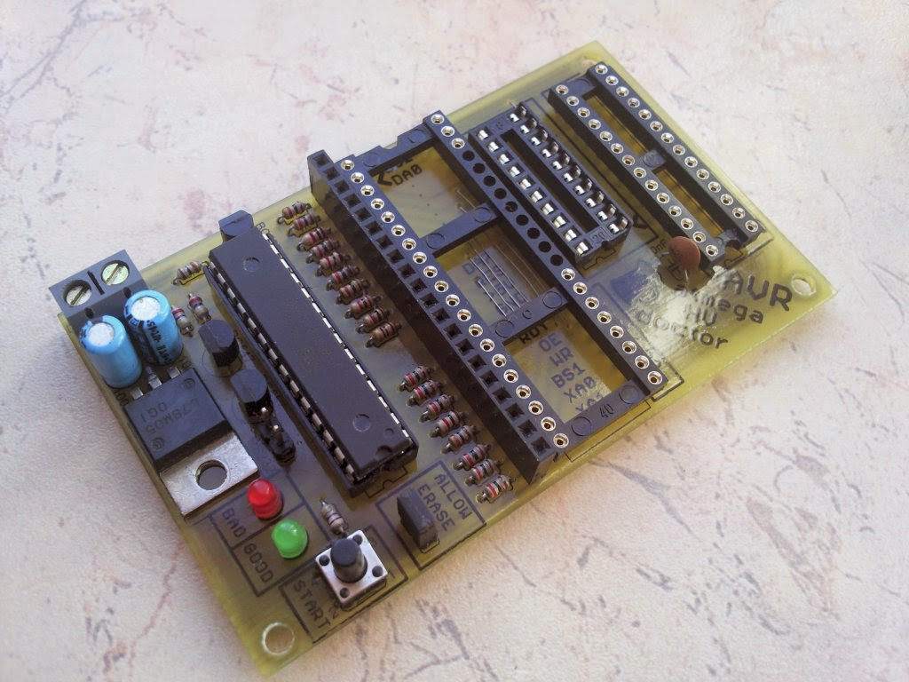 how to make microcontroller at home
