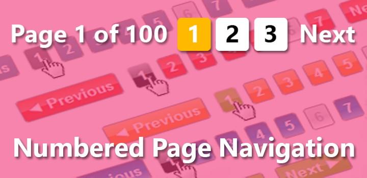 Solusi Mengatasi Numbered Page Navigation Tidak Muncul Di Halaman Label