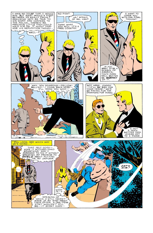 Captain America (1968) Issue #323 #251 - English 19
