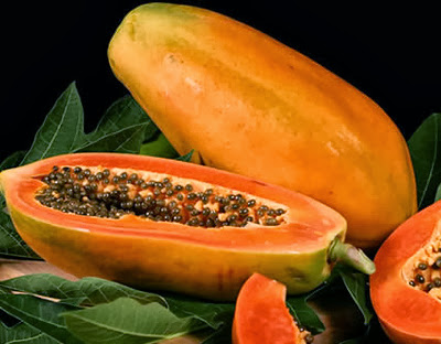 Efficacy Papaya, Eliminate Wrinkles on the Face