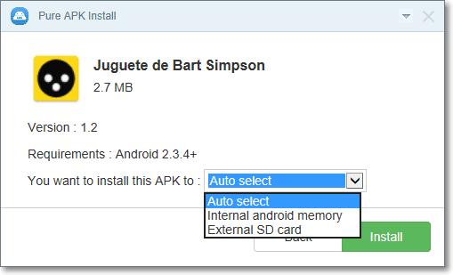 pure apk installer for windows