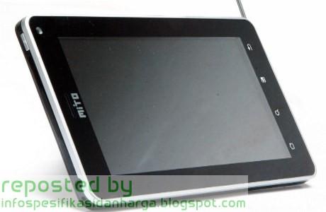 Spesifikasi Mito T600 Tablet Terbaru 2012