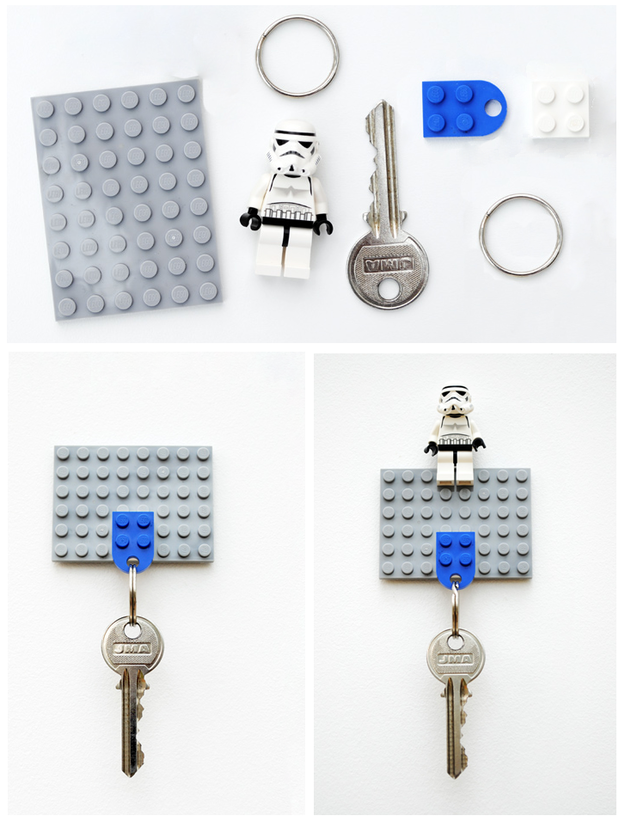 Never New Repurposing Lego In Useful Ways Around The Home