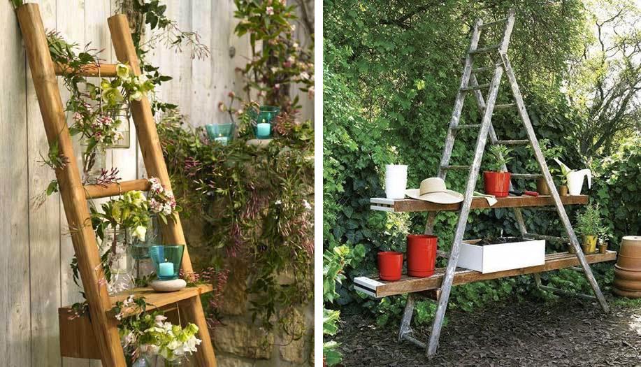 escada de madeira para jardim ? Doitri.com