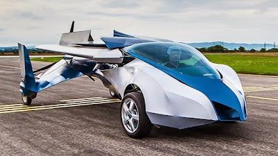 Kereta AeroMobil 2.5 Mampu Terbang